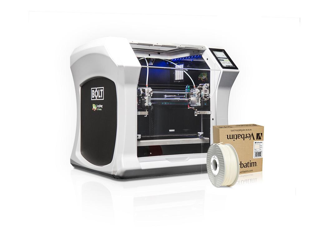 Leapfrog y Verbatim presentan Polipropileno para Impresión 3D