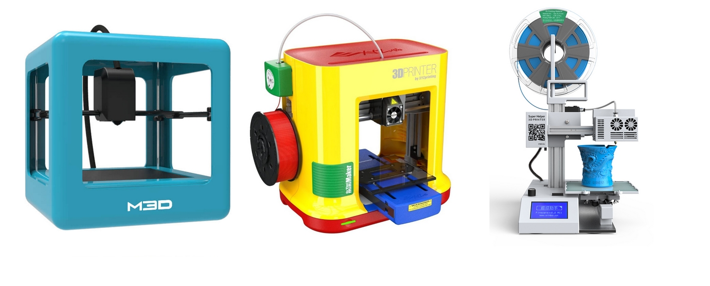 Las 25 impresoras 3D por menos de 300€