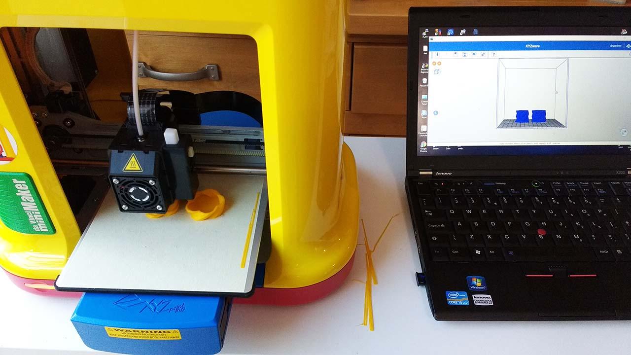 Prueba: Impresora 3D XYZPrinting da Vinci miniMaker