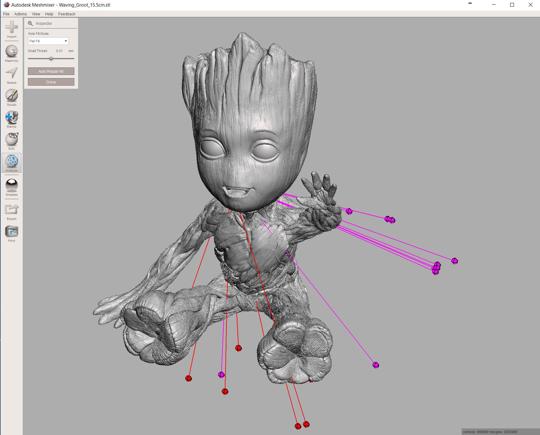 Aprende MeshMixer para imprimir en 3D · Nivel principiantes