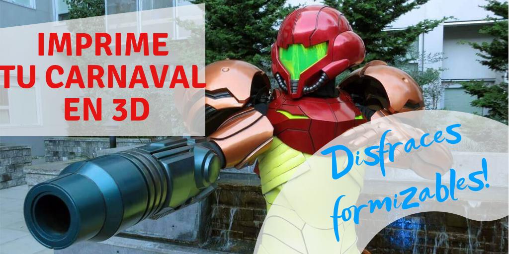 Imprime tu Carnaval en 3D: Disfraces formizables!